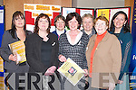 SEMINAR: Attending the seminar on Stop Sex Trafficking at Solas Building  ITT North Campus, Dromtacker, on Saturday. Front l-r: Josephine Lambe, Alice Kavanagh and Sr Katherine Tierney. Back l-r: Grainne Landers, Anne MacKenzie, Breda King (Tralee) and Sinead Kavanagh (Ballyferriter)..