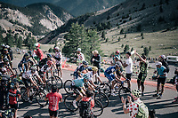 grupetto up the Col d'Izoard (HC/2360m/14.1km/7.3%)<br /> <br /> 104th Tour de France 2017<br /> Stage 18 - Briancon › Izoard (178km)