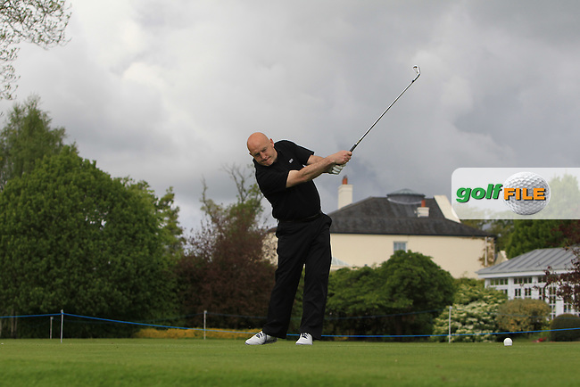 Keith Wood (AM) on the 14th tee during Wednesday's Pro-Am round of the Dubai Duty Free Irish Open presented  by the Rory Foundation at The K Club, Straffan, Co. Kildare<br /> Picture: Golffile | Thos Caffrey<br /> <br /> All photo usage must carry mandatory copyright credit <br /> (&copy; Golffile | Thos Caffrey)