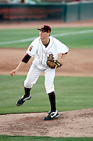 Seth Blair, Arizona State Sun Devils, pitching against the Oregon State Beavers at Packard Stadium, Tempe, AZ - 05/21/2010.Photo by:  Bill Mitchell/Four Seam Images.