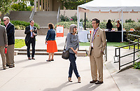 Jane (Zimmerman) Ettinger '81 and Raymond Yen '82<br /> Occidental College launched the public phase of the Oxy Campaign For Good, a comprehensive effort to raise $225 million to strengthen its financial aid endowment and academic and co-curricular programs, at a May 18, 2019 Campaign Leadership Summit on the Occidental campus. More than 100 Oxy community members participated, getting a first-hand look at current programs and celebrated what the Campaign means for the future of Oxy.<br /> (Photo by Marc Campos, Occidental College Photographer)