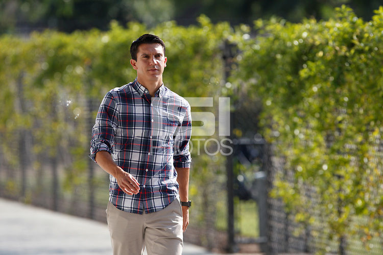San Jose, CA - Saturday July 28, 2018: Shea Salinas during a Major League Soccer (MLS) match between the San Jose Earthquakes and Real Salt Lake at Avaya Stadium.
