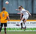 Ayr Utd's Neil McGregor Scores Ayr's second goal.