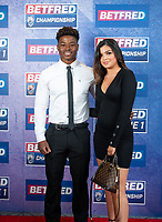 Picture by Allan McKenzie/SWpix.com - 25/09/2018 - Rugby League - Betfred Championship & League 1 Awards Dinner 2018 - The Principal Manchester- Manchester, England - Red carpet, Judah Mazive.