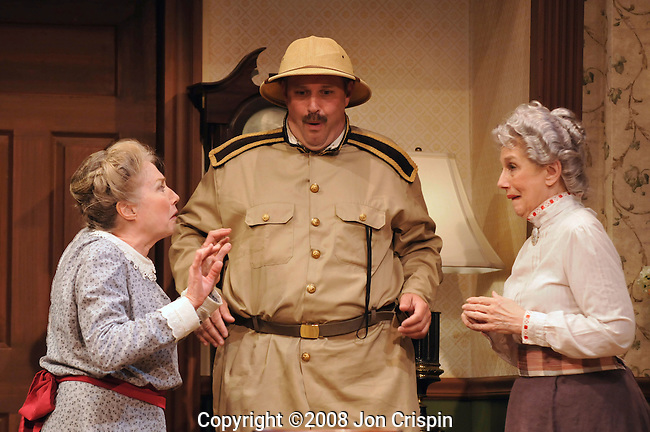 """New Century Theatre production of """"Arsenic and Old Lace""""...© 2008 JON CRISPIN .Please Credit   Jon Crispin.Jon Crispin   PO Box 958   Amherst, MA 01004.413 256 6453.ALL RIGHTS RESERVED."""