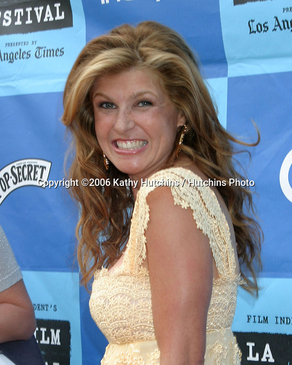 """Connie Britton .""""The Lather Effect"""" Premiere.Mann's Festival Theater.Westwood, CA.June 26, 2006.©2006 Kathy Hutchins / Hutchins Photo...."""