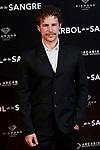 Alvaro Cervantes attends to 'El Arbol de la Sangre' premiere at Capitol cinema in Madrid, Spain. October 24, 2018. (ALTERPHOTOS/A. Perez Meca)