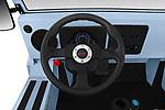 Car pictures of steering wheel view of a 2019 Moke America eMoke Base 5 Door SUV