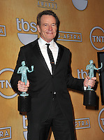 Bryan Cranston at the 20th Annual Screen Actors Guild Awards at the Shrine Auditorium.<br /> January 18, 2014  Los Angeles, CA<br /> Picture: Paul Smith / Featureflash