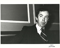 Joe Clark<br /> , 13 mars 1979<br /> <br /> <br /> PHOTO : agence quebec presse