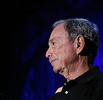 "Michael Bloomberg  attending Bette Midler's New York Restoration Project's Annual ""Hulaween in the Big Easy"" at  the Waldorf Astoria on October 31, 2013  in New York City."