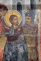 BG11140.JPG BULGARIA, SOFIA, ST. PETKA SAMARDZHIISKA CHURCH, 14TH C., frescoes