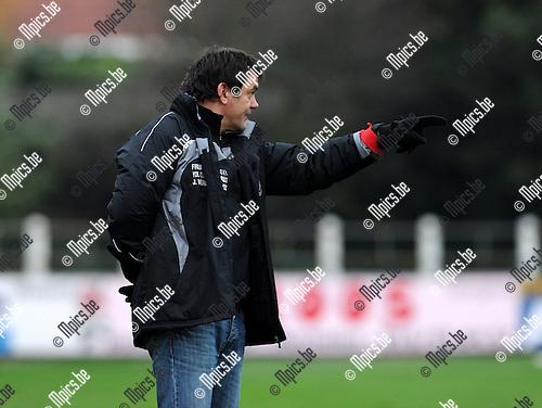 2010-11-07 / Voetbal / seizoen 2010-2011 / Duffel - Sint-Gillis-Waas / Ante Tolic..Foto: Mpics