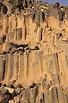 Israel, Negev, rocks at Haminsara (the Carpentry) Hill in Ramon Crater