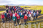 Members of Waterville Golf Club came out in large numbers on Sunday for the Captains Drive In, pictured here front l-r; Michael O'Sullivan(President), Lady Captain Noelle Golden, Captain Hugh Mullins & Ann Flaherty(Lady President).