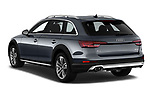 Car pictures of rear three quarter view of a 2018 Audi A4 allroad quattro base 5 Door Wagon angular rear