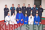 JUDO FINALS: Member's of IT Tralee Judo club who will compete in the All Ireland Intervarsities Judo finals at Trinty College, Dublin on Saturday February 18th training at the IT Tralee South campus on Monday front l-r: Danny Roche, Amy Madigan-Cooke, John Griffin, Emma Fitzgerald, Kirsty McCrea and J T Deenihan. Back l-r: Daniel O'Loughlin, Daelyn Purcell, Brennain Gould-Duff, Sven Rosery, Stephen O'Reilly, Jamie Kevany-McMahon and Mahdi Baba.