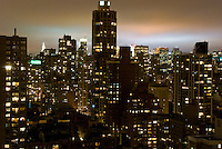 View of the Upper East Side of Manhattan from 90th and York.
