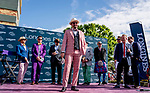 November 2, 2019: Scenes from the Longines Prize for Elegance during the Breeders' Cup World Championships at Santa Anita Park in Arcadia, California on November 2, 2019. Scott Serio/Eclipse Sportswire/Breeders' Cup/CSM