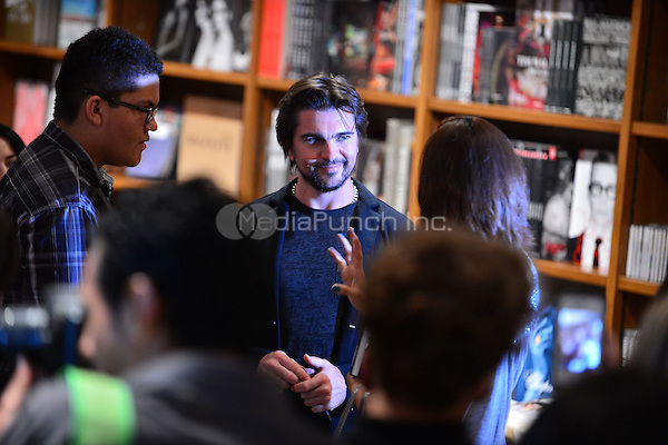 CORAL GABLES, FL - APRIL 01: Juanes greets fans and signs copies of his book 'Chasing The Sun' at Books and Books on April 1, 2013 in Coral Gables, Florida. © MPI10/MediaPunch Inc