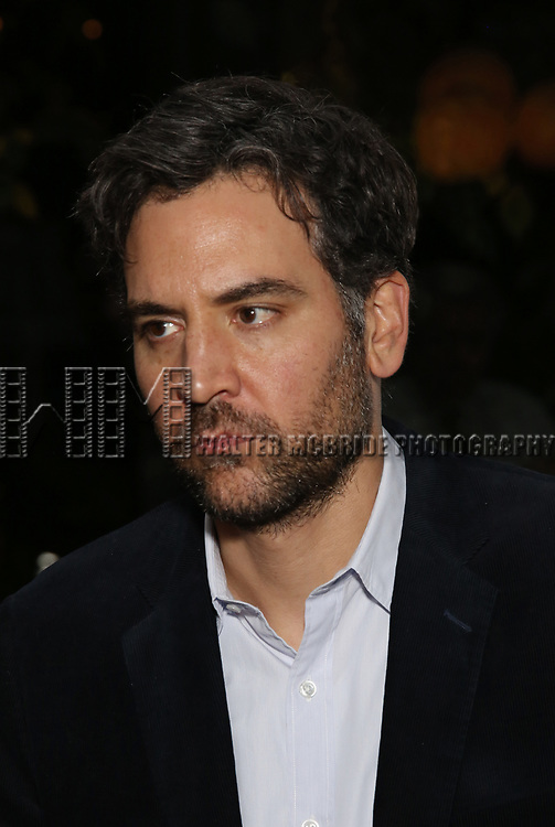 Josh Radnor attends the Opening Night After Party for the Lincoln Center Theater Production of 'Junk' on November 2, 2017 at Tavern On The Green in New York City.