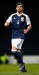Gordon Greer of Scotland during the Vauxhall International Challenge Match match at Hampden Park Stadium. Photo credit should read: Simon Bellis/Sportimage