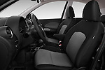 Front seat view of a 2013 - 2014 Nissan MICRA 5 Door Hatchback 2WD