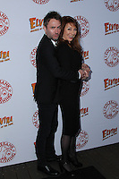 HOLLYWOOD, CA - OCTOBER 18:  Chris Hardwick, Cassandra Peterson attends the launch party for Cassandra Peterson's new book 'Elvira, Mistress Of The Dark' at the Hollywood Roosevelt Hotel on October 18, 2016 in Hollywood, California. (Credit: Parisa Afsahi/MediaPunch).