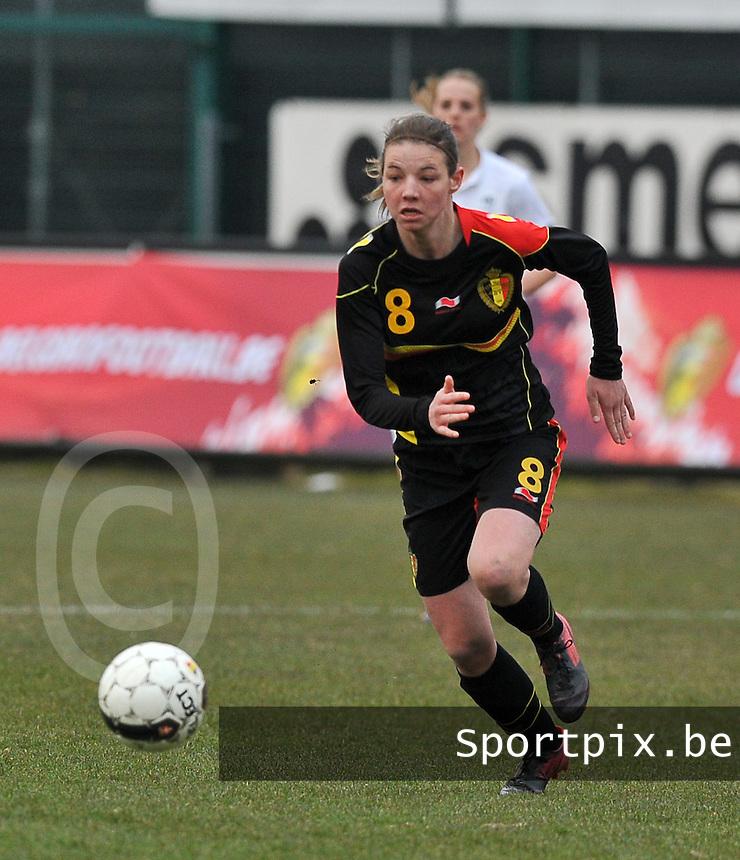 France U19 - Belgium U19 : Nicky Van Den Abbeele.foto DAVID CATRY / Nikonpro.be