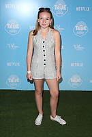 LOS ANGELES, CA - AUGUST 10: Anna Claire Bartlam al, at the Netflix Series Premiere Of True And The Rainbow Kingdom at the Pacific Theatres at The Grove in Los Angeles, California on August 10, 2017. Credit: Faye Sadou/MediaPunch
