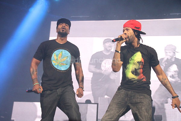 NEW YORK, NY - OCTOBER 17, 2014<br /> <br /> Method Man &amp; Redman performing at the Def Jam 30 Anniversary concert at The Barclays Center, October 16, 2014 in New York City.<br /> <br /> <br /> &copy; Walik Goshorn / MediaPunch