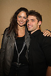 Jessica Leccia and David Gregory at The One Life To Live Lucheon at the Hemsley Hotel in New York City, New York on October 9, 2010. (Photo by Sue Coflin/Max Photos)