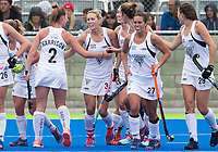 Action during the International Hockey match between the Blacksticks Women and the USA, Rangiora, New Zealand. Sunday 26 March 2017. Photo: Joe Johnson / www.bwmedia.co.nz