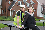 Redrow Homes<br /> Louise &amp; Joseph Impey<br /> 02.05.14<br /> &copy;Steve Pope-FOTOWALES