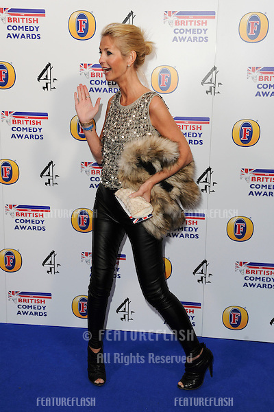 Ulrika Jonsson arriving for 2011 Comedy Awards at Indigo, O2 arena, London. 22/01/2011  Picture by: Steve Vas / Featureflash.