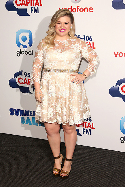 WWW.ACEPIXS.COM<br /> <br /> June 6 2015, London<br /> <br /> Kelly Clarkson at the Capital FM Summertime Ball on June 6 2015 in London<br /> <br /> By Line: Famous/ACE Pictures<br /> <br /> <br /> ACE Pictures, Inc.<br /> tel: 646 769 0430<br /> Email: info@acepixs.com<br /> www.acepixs.com