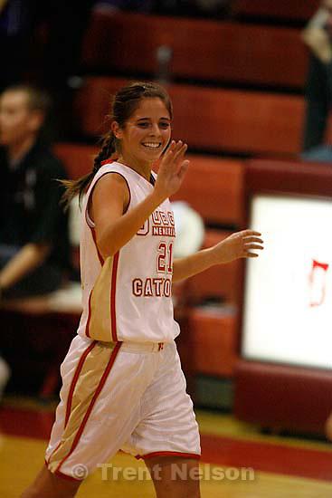Judge vs. Lehi High School girls basketball, Thursday, December 17, 2009.