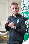 10.04.2018, Mixed Zone - Weserstadion, Bremen, GER, 1.FBL, Werder Bremen, Florian Kohfeldt (Trainer SV Werder Bremen) Mixed Zone, <br /> <br /> im Bild<br /> Florian Kohfeldt (Trainer SV Werder Bremen), <br /> <br /> Foto &copy; nordphoto / Ewert