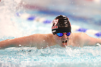 Picture by Richard Blaxall/SWpix.com - 15/04/2018 - Swimming - EFDS National Junior Para Swimming Champs - The Quays, Southampton, England - Ethan Naisbitt of Pioneer 79 in action during the Men's MC 100m Butterfly