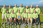 The Waterville team that played Ballybunion in Killorglin in the Billy O'Sullivan final on Saturday front row l-r: Michael Flaherty, Sean Hurley, Jack Fitzpatrick, Finbarr McGillicuddy Captain, Gerry O'Malley, John Morris. Back row: Ger O'Driscoll, Eamon English, Rob O'Mahony, Vernon Devane, Seamus O'Connor, Hugh Mullins and Sean Quinlan