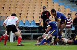 Kristian Ormsby scores Counties Manukau only try during the Air NZ Cup game between Counties Manukau & Otago played at Mt Smart Stadium,Auckland on the 29th of July 2006. Otago won 23 - 19.