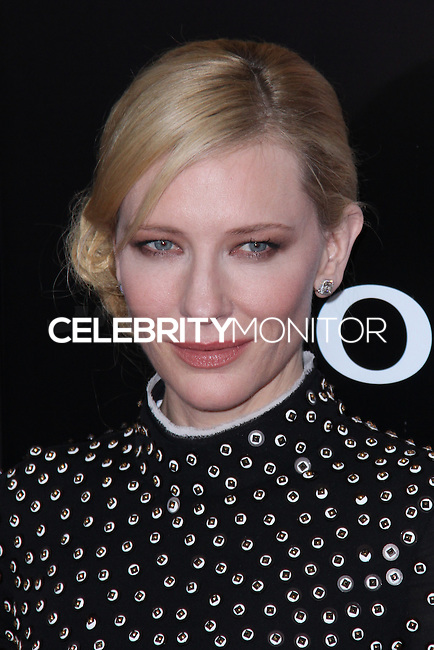 """NEW YORK, NY - FEBRUARY 04: Cate Blanchett at the New York Premiere Of Columbia Pictures' """"The Monuments Men"""" held at Ziegfeld Theater on February 4, 2014 in New York City, New York. (Photo by Jeffery Duran/Celebrity Monitor)"""