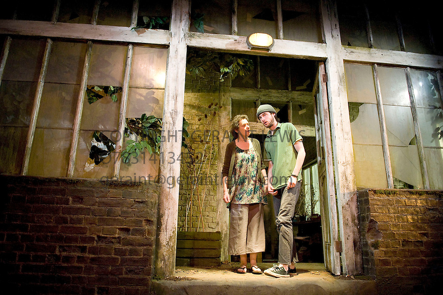 Wastwater by Simon Roberts, directed by Katie Mitchell . With Linda Bassett as Frieda,Tom Sturridge as Harry. Opens at The Royal Court Theatre on 5/4/11 CREDIT Geraint Lewis