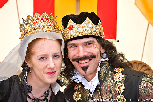 The Renaissance Fair is held each September at the historic museum of El Rancho de Las Golondrinas near Santa Fe and features dancers, knights, acrobats and many other performers celebrating the culture and lifestyle of the Medieval Middle Ages.  Kimberly Stockton played the Queen and TerryGarcia was theKing.