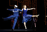 Pic shows: 42nd Street show at Theatre Royal Drury Lane<br /> <br /> Starring Stuart Neal as Billy Lawler and Clare Halse as Peggy Sawyer<br /> <br /> <br /> <br /> <br /> <br /> Pic by Gavin Rodgers/Pixel 8000 Ltd