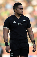 PRETORIA, SOUTH AFRICA - OCTOBER 06: Ofa Tu'ungafasi of the New Zealand All Blacks during the Rugby Championship match between South Africa Springboks and New Zealand All Blacks at Loftus Versfeld Stadium. on October 6, 2018 in Pretoria, South Africa. Photo: Steve Haag / stevehaagsports.com