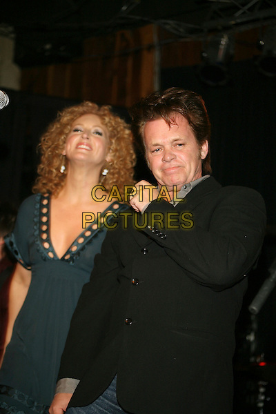 KIMBERLY RHODES & JOHN MELLENCAMP.John Mellencamp joined country quartet Little Big Town onstage during an Equity Records Showcase held at The Stage, Nashville, Tennessee , USA, 27 February 2007..half length.CAP/ADM/RR.www.capitalpictures.com.©Randi Radcliff/AdMedia/Capital Pictures.