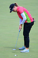 Jackie Stoelting (USA) sinks her putt on 12 during round 1 of  the Volunteers of America Texas Shootout Presented by JTBC, at the Las Colinas Country Club in Irving, Texas, USA. 4/27/2017.<br /> Picture: Golffile | Ken Murray<br /> <br /> <br /> All photo usage must carry mandatory copyright credit (&copy; Golffile | Ken Murray)