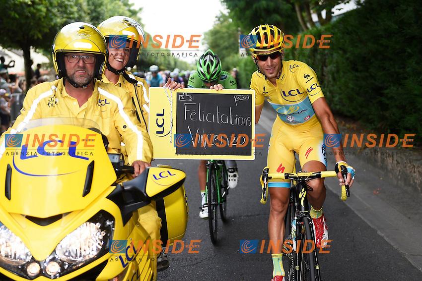 NIBALI Vincenzo ITA of Astana Pro Team   <br /> Vincenzo Nibali maglia Gialla vince il Tour de France <br /> Ciclismo Tour de France 27-07-2014<br /> 21ma Tappa - Evry / Paris Champs Elysees <br /> Foto Insidefoto