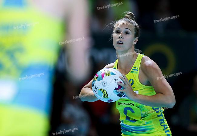 29/10/17 Fast5 2017<br /> Fast 5 Netball World Series<br /> Hisense Arena Melbourne<br /> Australia v New Zealand<br /> <br /> Paige Hadley<br /> <br /> <br /> <br /> <br /> Photo: Grant Treeby